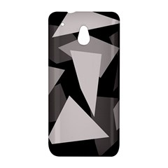 Simple gray abstraction HTC One Mini (601e) M4 Hardshell Case