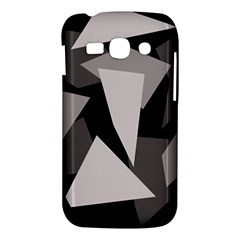 Simple gray abstraction Samsung Galaxy Ace 3 S7272 Hardshell Case