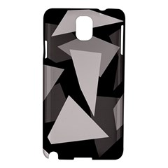 Simple gray abstraction Samsung Galaxy Note 3 N9005 Hardshell Case