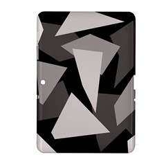 Simple gray abstraction Samsung Galaxy Tab 2 (10.1 ) P5100 Hardshell Case