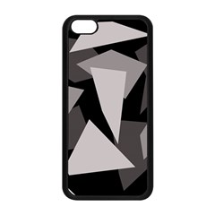 Simple gray abstraction Apple iPhone 5C Seamless Case (Black)