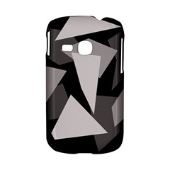 Simple gray abstraction Samsung Galaxy S6310 Hardshell Case