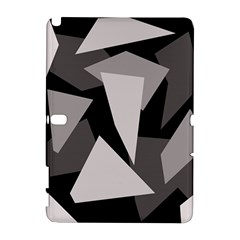 Simple gray abstraction Samsung Galaxy Note 10.1 (P600) Hardshell Case