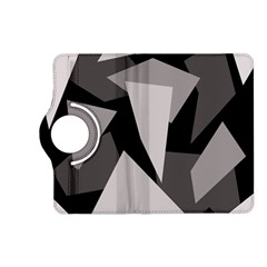 Simple gray abstraction Kindle Fire HD (2013) Flip 360 Case
