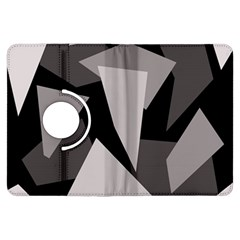 Simple gray abstraction Kindle Fire HDX Flip 360 Case