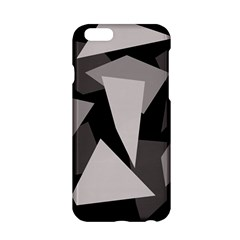 Simple gray abstraction Apple iPhone 6/6S Hardshell Case