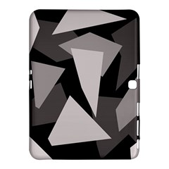 Simple gray abstraction Samsung Galaxy Tab 4 (10.1 ) Hardshell Case