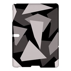Simple gray abstraction Samsung Galaxy Tab S (10.5 ) Hardshell Case
