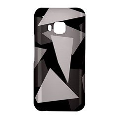 Simple gray abstraction HTC One M9 Hardshell Case