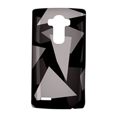 Simple gray abstraction LG G4 Hardshell Case
