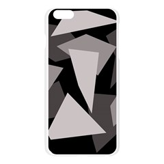 Simple gray abstraction Apple Seamless iPhone 6 Plus/6S Plus Case (Transparent)