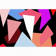 Colorful geometrical design Collage Prints