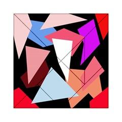 Colorful geometrical design Acrylic Tangram Puzzle (6  x 6 )