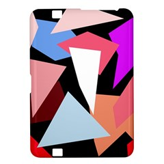 Colorful geometrical design Kindle Fire HD 8.9