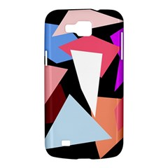 Colorful geometrical design Samsung Galaxy Premier I9260 Hardshell Case