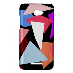 Colorful geometrical design HTC Butterfly X920E Hardshell Case