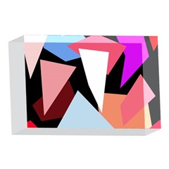 Colorful geometrical design 4 x 6  Acrylic Photo Blocks