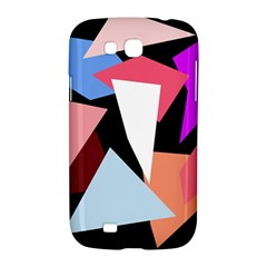 Colorful geometrical design Samsung Galaxy Grand GT-I9128 Hardshell Case