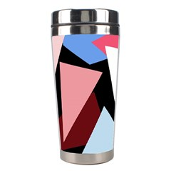 Colorful geometrical design Stainless Steel Travel Tumblers