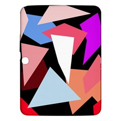 Colorful geometrical design Samsung Galaxy Tab 3 (10.1 ) P5200 Hardshell Case