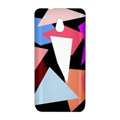 Colorful geometrical design HTC One Mini (601e) M4 Hardshell Case