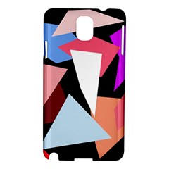 Colorful geometrical design Samsung Galaxy Note 3 N9005 Hardshell Case