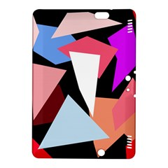 Colorful geometrical design Kindle Fire HDX 8.9  Hardshell Case