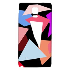 Colorful geometrical design Galaxy Note 4 Back Case