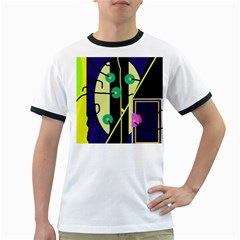 Crazy abstraction by Moma Ringer T-Shirts