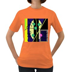 Crazy abstraction by Moma Women s Dark T-Shirt