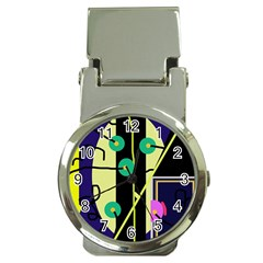 Crazy abstraction by Moma Money Clip Watches