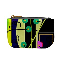 Crazy abstraction by Moma Mini Coin Purses