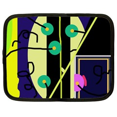Crazy abstraction by Moma Netbook Case (XXL)