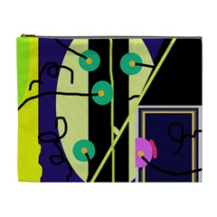 Crazy abstraction by Moma Cosmetic Bag (XL)