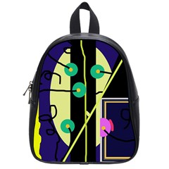 Crazy abstraction by Moma School Bags (Small)