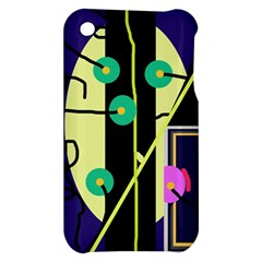 Crazy abstraction by Moma Apple iPhone 3G/3GS Hardshell Case