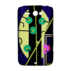 Crazy abstraction by Moma HTC ChaCha / HTC Status Hardshell Case