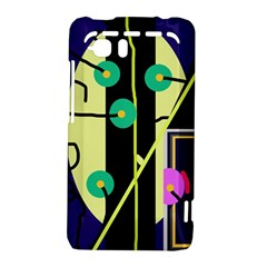 Crazy abstraction by Moma HTC Vivid / Raider 4G Hardshell Case