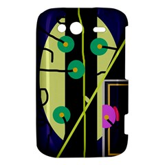 Crazy abstraction by Moma HTC Wildfire S A510e Hardshell Case