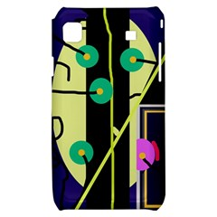Crazy abstraction by Moma Samsung Galaxy S i9000 Hardshell Case