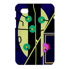 Crazy abstraction by Moma Samsung Galaxy Tab 7  P1000 Hardshell Case
