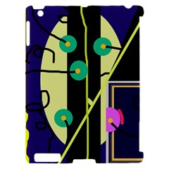 Crazy abstraction by Moma Apple iPad 2 Hardshell Case (Compatible with Smart Cover)