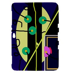 Crazy abstraction by Moma Samsung Galaxy Tab 8.9  P7300 Hardshell Case