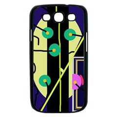 Crazy abstraction by Moma Samsung Galaxy S III Case (Black)