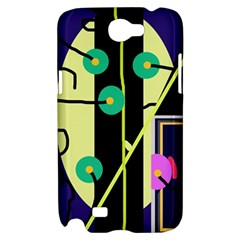Crazy abstraction by Moma Samsung Galaxy Note 2 Hardshell Case
