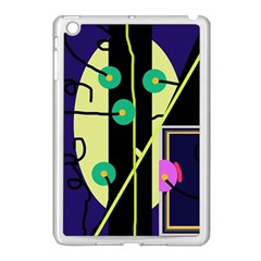Crazy abstraction by Moma Apple iPad Mini Case (White)
