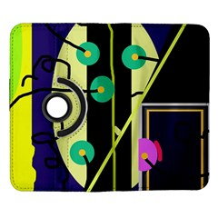 Crazy abstraction by Moma Samsung Galaxy Note II Flip 360 Case