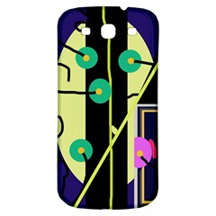 Crazy abstraction by Moma Samsung Galaxy S3 S III Classic Hardshell Back Case