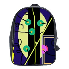 Crazy abstraction by Moma School Bags (XL)