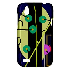Crazy abstraction by Moma HTC Desire V (T328W) Hardshell Case